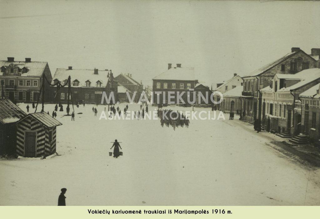 Aikštė 1917 m