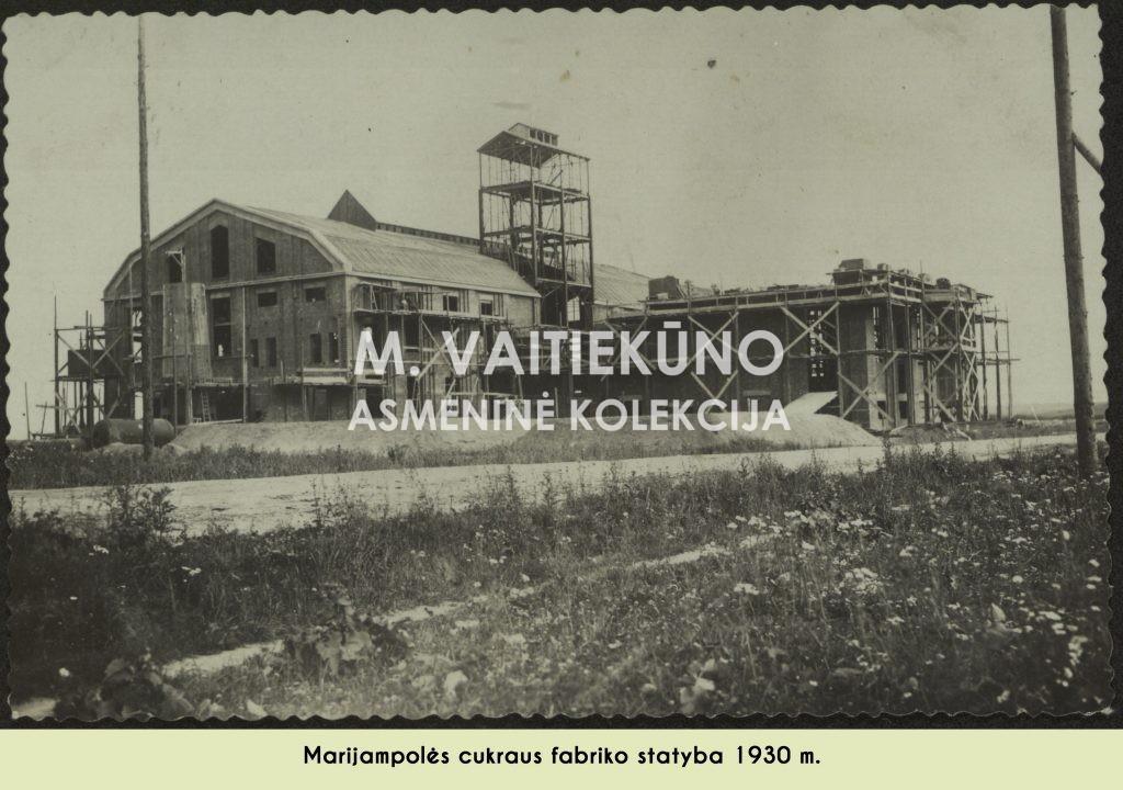 Cukraus fabriko statybos
